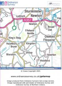 Sturminster Newton area