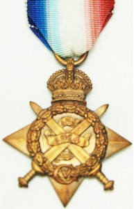 1914 Star awarded 11th April 1919