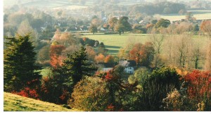 Fontmell in autumn