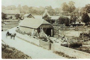 Sawmill in Church Street