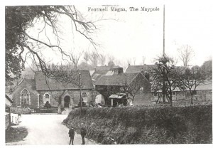 Methodist Chapel, village shop,malthouse and maypole