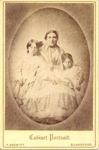 EH Salkeld & grand daughters
