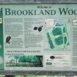 Brookland Wood sign