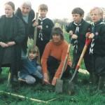 Beavers and St Andrew's School children