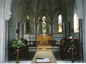 The new St Mary's Church, Compton Abbas