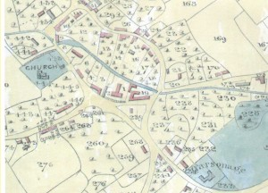 Part of the Tithe Map of 1839