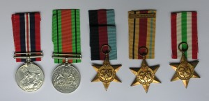 Harold Stainer's medals