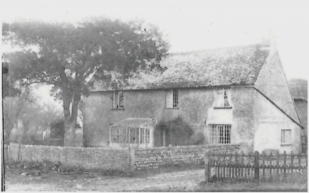 Blackven Farm House at the beginning of the 20th century.