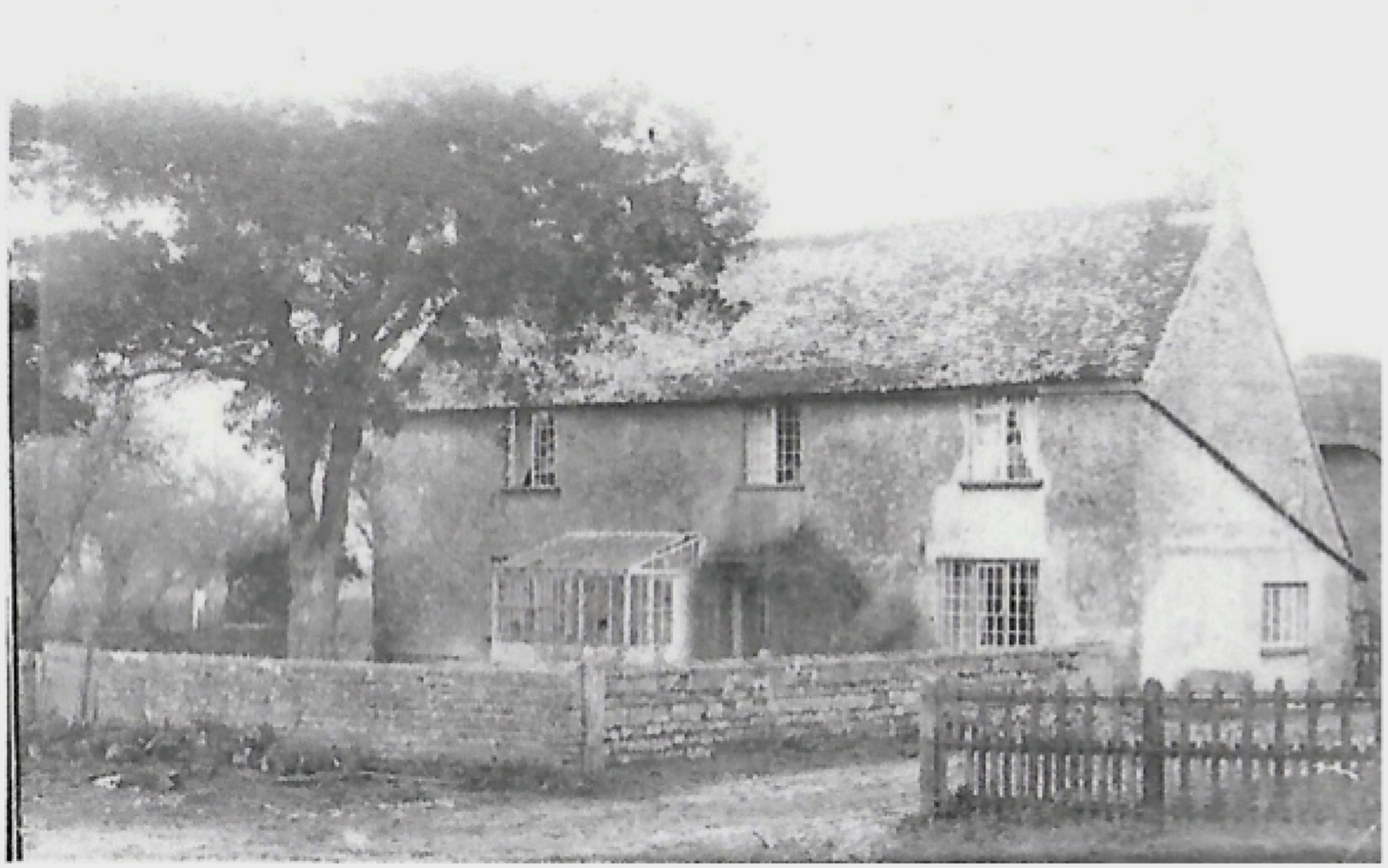 Blackven Farm House At The Beginning Of 20th Century