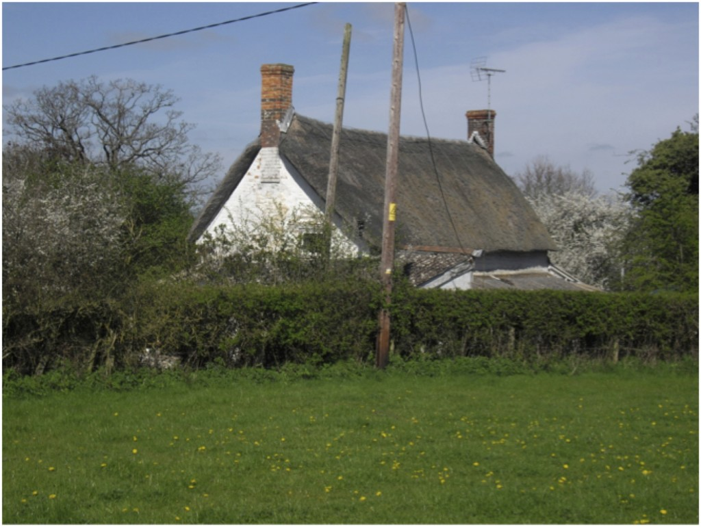 A very old cottage on Blackven Common in 2014