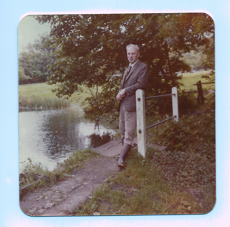Harold Stainer on Middle Mill Dam