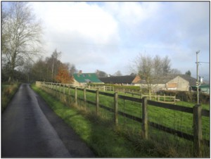 A view of Little Hartgrove Farm in 2014