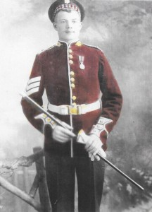 Sam Lemon - Scots Guards Dress Uniform