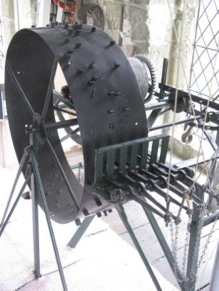 St Andrew's church carillon mechanism