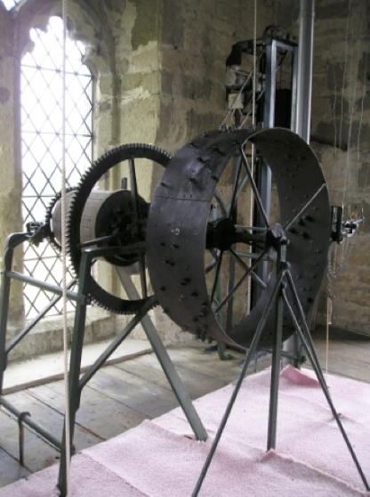 St Andrew's church carillon mechanism