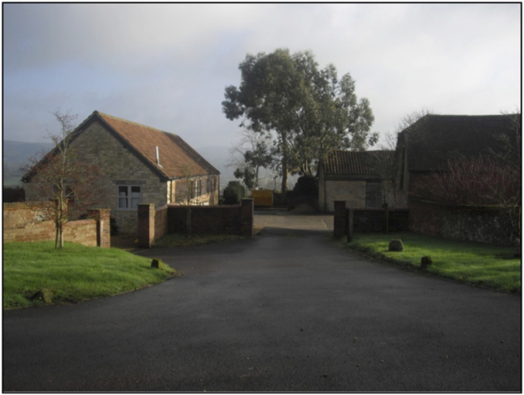 Yew Tree Farm. The same view in 2014.